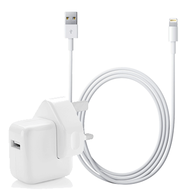 Apple Ipad Charger Lightning Cable Amp 12w Adapter Bundle